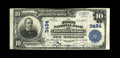 National Bank Notes:Vermont, White River Junction, VT - $10 1902 Plain Back Fr. 627 The First NBCh. # 3484. This Very Fine note bears the second...