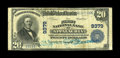 National Bank Notes:Virginia, Appalachia, VA - $20 1902 Plain Back Fr. 652 The First NB Ch. #9379. Just five large notes make up the complete census ...