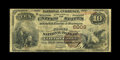 National Bank Notes:Virginia, Clifton Forge, VA - $10 1882 Brown Back Fr. 490 The First NB Ch. #6008. While the census from here stands at a seemingl...
