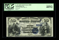 National Bank Notes:Virginia, Clifton Forge, VA - $20 1882 Value Back Fr. 581 The First NB Ch. #(S)6008. The Kelly census lists just 15 $20 Value Bac...