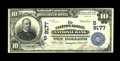 National Bank Notes:Virginia, Clifton Forge, VA - $10 1902 Plain Back Fr. 626 The Clifton ForgeNB Ch. # (S)9177. A freshly crisp example with purple ...