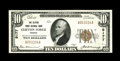 National Bank Notes:Virginia, Clifton Forge, VA - $10 1929 Ty. 1 The Clifton Forge NB Ch. # 9177.This is a somewhat tougher bank to find in small siz...