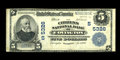 National Bank Notes:Virginia, Covington, VA - $5 1902 Plain Back Fr. 607 The Citizens NB Ch. #(S)5326. A solid and quite crisp Very Fine that is ...
