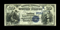 National Bank Notes:Virginia, Norfolk, VA - $20 1882 Value Back Fr. 581 The NB of Commerce Ch. #(S)6032. This type and denomination has been traced f...