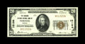National Bank Notes:Virginia, Norfolk, VA - $20 1929 Ty. 1 The Seaboard Citizens NB Ch. # 10194.This exceptionally well margined Gem Crisp Uncircul...