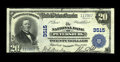 National Bank Notes:Virginia, Petersburg, VA - $20 1902 Plain Back Fr. 651 The NB of PetersburgCh. # 3515. A Very Fine $20 Plain Back that is new...