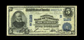 National Bank Notes:Virginia, Richmond, VA - $5 1902 Date Back Fr. 590 NB of Virginia Ch. #(S)1125. This is a new note for the census on this large o...