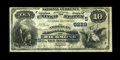 National Bank Notes:Virginia, Richmond, VA - $10 1882 Date Back Fr. 545 The American NB Ch. #(S)5229. The 1882 Date Back is not at all common from Vi...