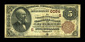National Bank Notes:Virginia, Winchester, VA - $5 1882 Brown Back Fr. 477 The Farmers &Merchants NB Ch. # (S)6084. This newly discovered Brown Back j...