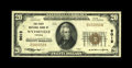 National Bank Notes:Virginia, Wytheville, VA - $20 1929 Ty. 1 The First NB Ch. # 9012. The holderthis Extremely Fine note came to us housed in in...