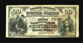 National Bank Notes:West Virginia, Grafton, WV - $20 1882 Brown Back Fr. 504 The First NB Ch. #(S)2445. This scarce $20 Brown Back is an old friend, havin...