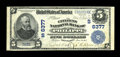 National Bank Notes:West Virginia, Philippi, WV - $5 1902 Plain Back Fr. 598 The Citizens NB Ch. #(S)6377. The discovery of this bright and well margined ...