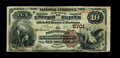 National Bank Notes:West Virginia, Point Pleasant, WV - $10 1882 Brown Back Fr. 490 The Point PleasantNB Ch. # 5701. This is the only Brown Back listed in...