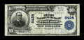 National Bank Notes:West Virginia, West Union, WV - $10 1902 Plain Back Fr. 624 The First NB Ch. #6424. This is one of a meager 6 large in the census and ...