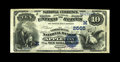National Bank Notes:Wisconsin, Appleton, WI - $10 1882 Date Back Fr. 545 The Commercial NB Ch. # (M)2565. A nice Fine-Very Fine from the home of La...