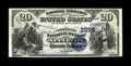 National Bank Notes:Wisconsin, Appleton, WI - $20 1882 Value Back Fr. 581 The Commercial NB Ch. # (M)2565. We've handled this note once before, in Janu...