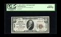 National Bank Notes:Wisconsin, Wisconsin Rapids, WI - $10 1929 Ty. 1 The Wood County NB Ch. # 4639. A clear Gem certified as PCGS Gem New 65PPQ. Th...