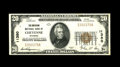 National Bank Notes:Wyoming, Cheyenne, WY - $20 1929 Ty. 1 The American NB Ch. # 11380. Thiswell centered and bright About Uncirculated note sol...