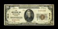 National Bank Notes:Wyoming, Rawlins, WY - $20 1929 Ty. 1 The Rawlins NB Ch. # 5413. While there are 66 small notes listed in the census, they certai...