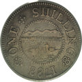 Colonials: , 1783 SHLNG Chalmers Shilling, Short Worm XF40 PCGS. Breen-1011,Crosby Pl. IX, 5. The hedge is...