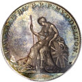 Colonials: , 1796 TOKEN Myddelton Token, Silver PR64 PCGS. Breen-1073. English resident Philip Parry Price owned a large land holding in...