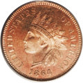 Proof Indian Cents: , 1864 1C L On Ribbon PR64 Red PCGS, Eagle Eye Photo Seal, CardIncluded. Snow-PR3. The proof 1864 With L Indian cent is a le...