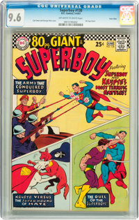 Superboy #138 Twin Cities pedigree (DC, 1967) CGC NM+ 9.6 Off-white to white pages