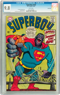 Superboy #142 Twin Cities pedigree (DC, 1967) CGC NM/MT 9.8 White pages