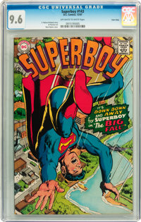 Superboy #143 Twin Cities pedigree (DC, 1967) CGC NM+ 9.6 Off-white to white pages