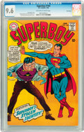 Silver Age (1956-1969):Superhero, Superboy #144 Twin Cities pedigree (DC, 1968) CGC NM+ 9.6 Off-white to white pages....