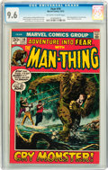 Bronze Age (1970-1979):Horror, Fear #10 (Marvel, 1972) CGC NM+ 9.6 Off-white to white pages....