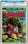 Bronze Age (1970-1979):Miscellaneous, Fear #17 (Marvel, 1973) CGC NM/MT 9.8 White pages....
