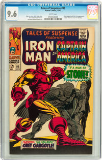 Tales of Suspense #95 (Marvel, 1967) CGC NM+ 9.6 White pages