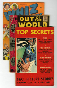 Miscellaneous Golden to Bronze Age Adventure Related Comics Group (Various Publishers, 1948-78) Condition: Average VG+...