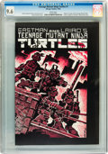Modern Age (1980-Present):Alternative/Underground, Teenage Mutant Ninja Turtles #1 First Printing (Mirage Studios, 1984) CGC NM+ 9.6 White pages....