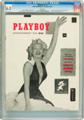 Magazines:Miscellaneous, Playboy #1 Newsstand Edition (HMH Publishing, 1953) CGC FN+ 6.5 White pages....