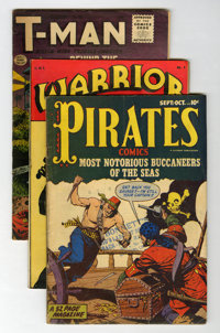Miscellaneous Golden/Silver Age Adventure Related Comics Group (Various Publishers, 1948-78) Condition: Average GD/VG...