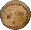 Autographs:Baseballs, 1920's Harry Heilmann Single Signed Baseball....