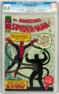 Silver Age (1956-1969):Superhero, The Amazing Spider-Man #3 (Marvel, 1963) CGC VF 8.0 Off-white towhite pages....