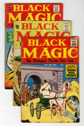 Silver Age (1956-1969):Horror, Black Magic Group (Prize, 1960-61) Condition: Average FN-....(Total: 6 Comic Books)