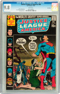 Bronze Age (1970-1979):Superhero, Justice League of America #86 Twin Cities pedigree (DC, 1970) CGCNM/MT 9.8 White pages....