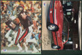 Football Collectibles:Photos, Walter Payton Signed Photographs Lot of 2....