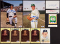 Baseball Collectibles:Others, Jim Catfish Hunter Signed Memorabilia Lot of 11....