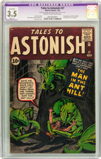 Tales to Astonish #27 (Marvel, 1962) CGC Apparent VG- 3.5 Slight (P) Cream to off-white pages