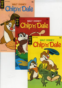 Chip 'n' Dale File Copy Group (Gold Key, 1963-80) Condition: Average VF+.... (Total: 54 Comic Books)