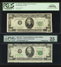 Error Notes:Error Group Lots, Fr. 2061-B* $20 1950B Federal Reserve Star Note. PCGS Very Fine35PPQ; Fr. 2072-K* $20 1977 Federal Reserve Star Note. PMG Ver...(Total: 2 notes)