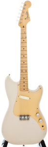 Musical Instruments:Electric Guitars, 1959 Fender Musicmaster Desert Sand Solid Body Electric Guitar, #34240....