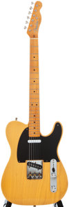 Musical Instruments:Electric Guitars, 1986 Fender Telecaster Butterscotch Solid Body Electric Guitar,#23566....