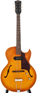 Musical Instruments:Electric Guitars, 1966 Gibson ES-125TC Cherry Sunburst Archtop Electric Guitar,#850612....