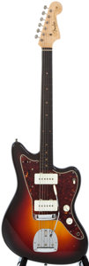 Musical Instruments:Electric Guitars, 1961 Fender Jazzmaster Sunburst Solid Body Electric Guitar,#46393....